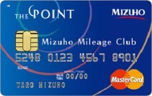 みずほマイレージクラブカード/THE POINT